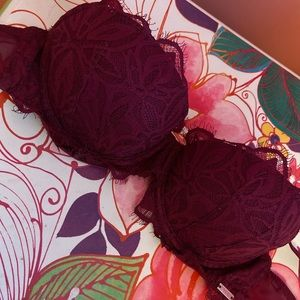 Victoria's Secret PINK lace push-up Date Bra